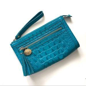Brahmin Turquoise Clutch